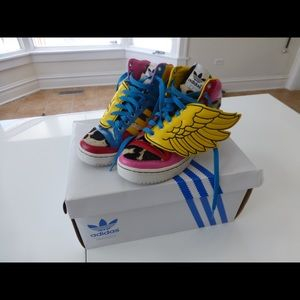 122e6a10dc4b Jeremy Scott X Adidas Shoes on Poshmark